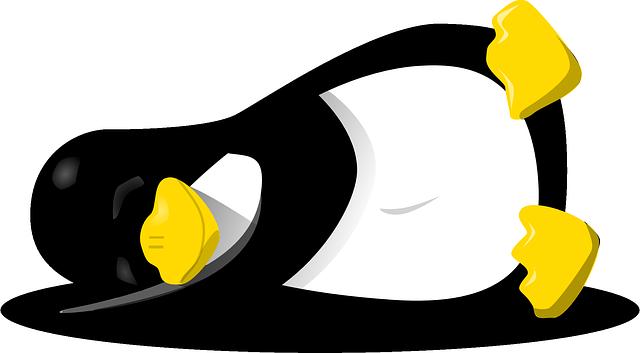 tučňák linux