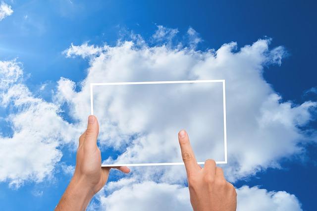 mraky v obdelníku