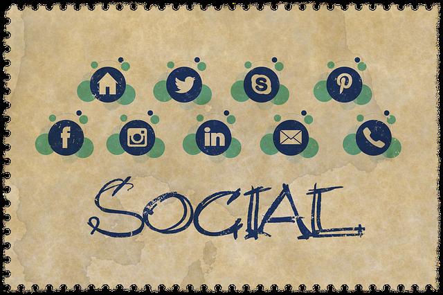 sociální média na obálce